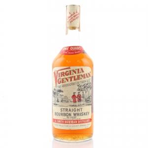 Virginia Gentleman 4 Year Old Bourbon 1970s