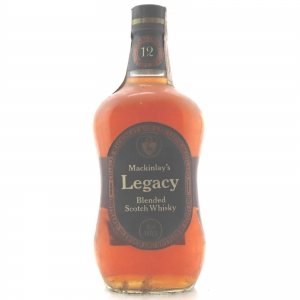 Mackinlay's Legacy 12 Year Old 1960/70s
