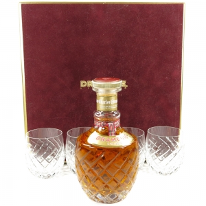 Drambuie Liqueur Decanter Gift Set / Including Crystal Decanter