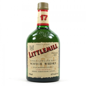 Littlemill 17 Year Old 75cl / US Import