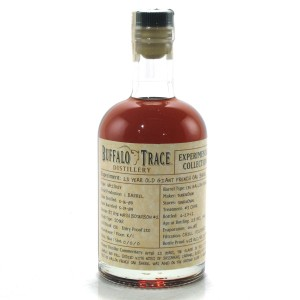 Buffalo Trace 1989 Experimental Collection 23 Year Old 37.5cl / Giant French Oak Barrel