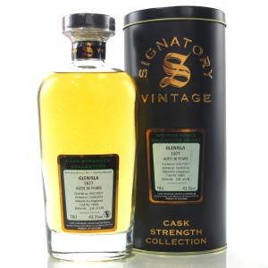 Glenisla 1977 Signatory Vintage 36 Year Old Cask Strength