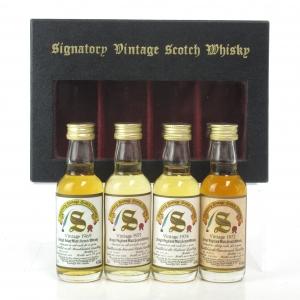 Signatory Vintage Miniature Selection Box 4 x 5cl