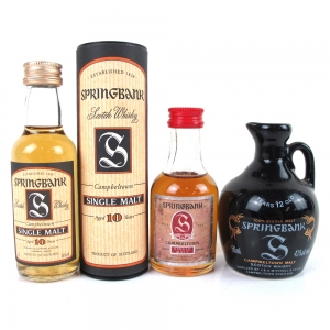 Springbank Miniature Selection 3 x 5cl