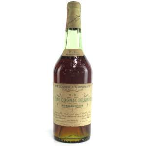 Bellows & Company 20 Year Old V.E Fine Cognac 1940s