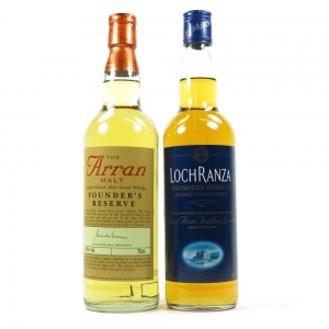 Arran Founders Reserve and Lochranza Founders' Reserve Blend