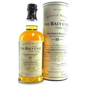 Balvenie 10 Year Old Founder's Reserve 75cl / US Import