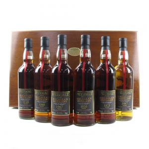 Macallan Speymalt 'The Collection' 6 x 70cl / Including 1938 65 Year Old