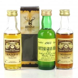 Closed Distillery Miniatures 3 x 5cl