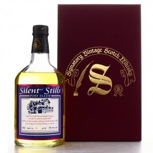 Port Ellen 1979 Signatory Vintage 22 Year Old Silent Stills / World of Whisky, St Moritz