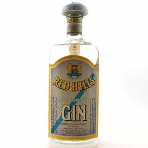 Red Hills Dry London Gin 1950s