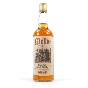 Ghillie 8 Year Old Pure Malt 1980s