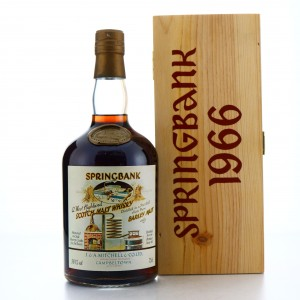 Springbank 1966 Sherry Cask 24 Year Old #443 / Local Barley
