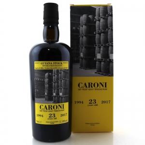 Caroni 1994 Guyana Stock 23 Year Old 100 Proof Heavy Trinidad Rum