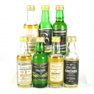 Campbeltown & Lowland Miniature Selection x 7