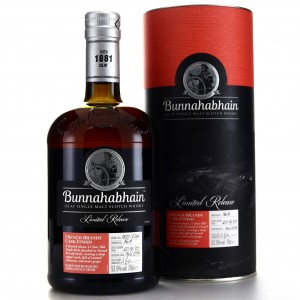 Bunnahabhain 2007 French Brandy Cask Finish 11 Year Old