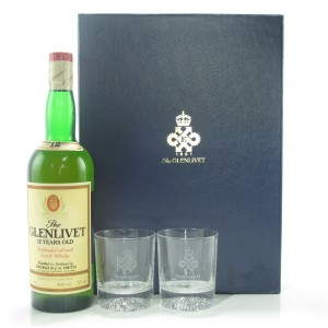 Glenlivet 12 Year Old Gift Pack 1980s
