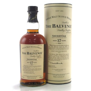 Balvenie 17 Year Old Sherry Oak First Edition