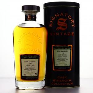 Ladyburn - Rare Ayrshire 1975 Signatory Vintage 36 Year Old Cask Strength