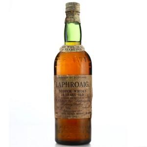 Laphroaig 14 Year Old bottled 1952/1953US Import