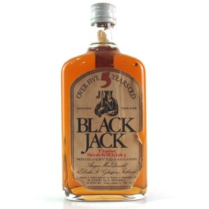 Black Jack 5 Year Old Scotch Whisky 1980s