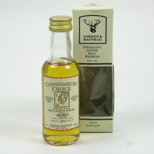 Ardbeg 1974 Gordon and Macphail Miniature 5cl