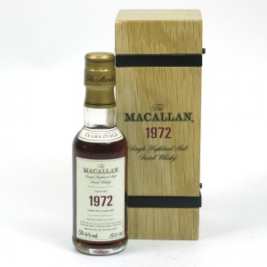Macallan 1972 Fine and Rare Miniature 5cl