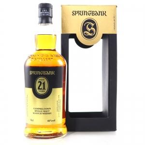 Springbank 21 Year Old