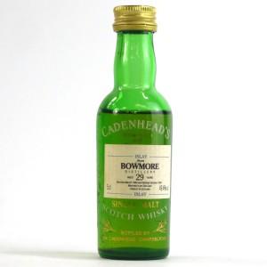 Bowmore 1964 Cadenhead's 29 Year Old Miniature 5cl