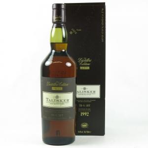 Talisker 1992 Distillers Edition front