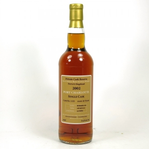 Port Charlotte 2002 Single Cask 10 Year Old Front