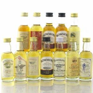 Morrison Miniature Collection 12 x 5cl / Including Bowmore 1965 Sherry Cask