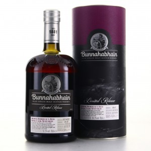 Bunnahabhain 2008 Moine Bordeaux Red Wine Cask Matured
