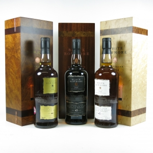 Bowmore 1964 Trilogy set front