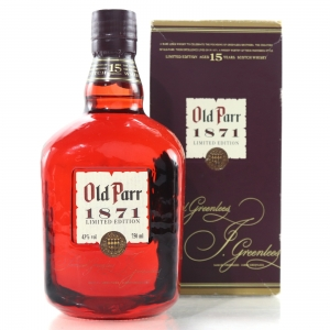 Old Parr '1871' 15 Year Old Limited Edition 75cl / US Import