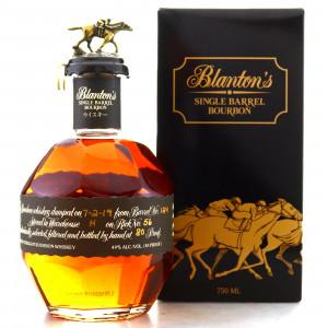 Blanton's Single Barrel Black Label Dumped 2019 / Japanese Import