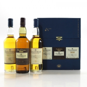 Talisker Gift Pack 3 x 20cl / including 1999 Distiller's Edition