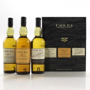 Caol Ila Gift Pack 3 x 20cl / 12, 18 Year Old, Cask Strength