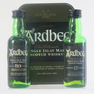 Ardbeg 10 & 17 Year Old Miniature Gift Set 2 x 5cl