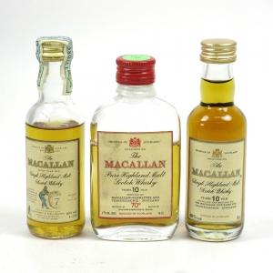 Macallan Miniature Selection