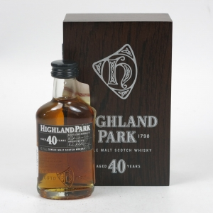 Highland Park 40 Year Old 5cl Miniature
