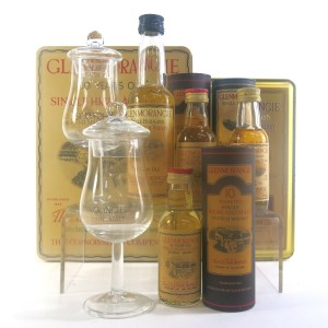 Glenmorangie Miniature Selection x 4 / including 18 Year Old