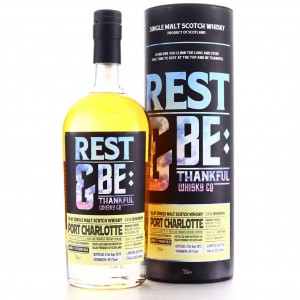 Port Charlotte 2004 Rest and Be Thankful Whisky Co 11 Year Old