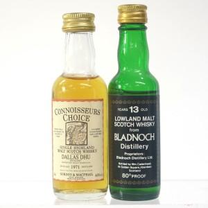 Bladnoch & Dallas Dhu Miniatures 2 x 5cl