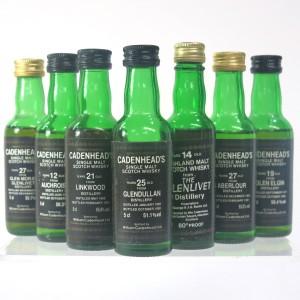 Cadenhead's Speyside Miniature Selection 7 x 5cl / Including Aberlour 1963