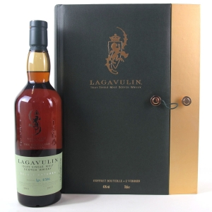 Lagavulin 2001 Distillers Edition 2017 Gift Set / Including 2 Tumblers