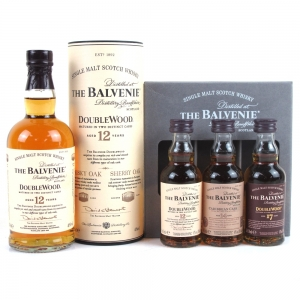Balvenie 12 Year Old Double Wood 20cl & Tasting Collection 3 x 5cl