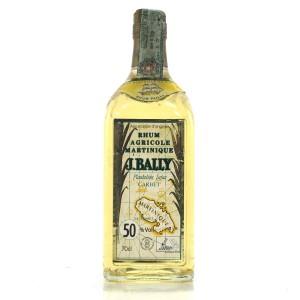 Rhum J. Bally Martinique Rum 1990s