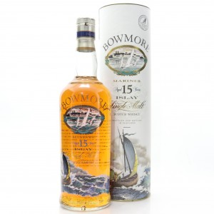 Bowmore 15 Year Old Mariner Screen Print Label 1 Litre