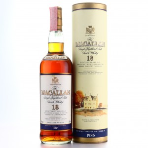 Macallan 1985 18 Year Old